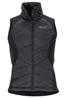Women's Variant Hybrid Vest, Black, medium