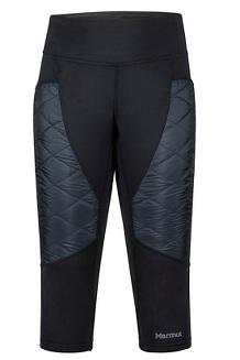 Women's Variant Hybrid Capri Pants, Black, medium