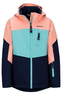 Girls' Elise Jacket, Arctic Navy/Spritzer, medium