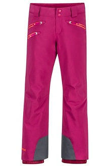 Girls' Slopestar Pants, Purple Berry, medium