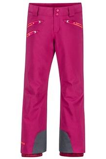 Girls' Slopestar Pants, Purple Berry, medium