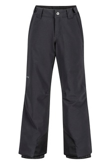 Boys' Vertical Pants, Black, medium