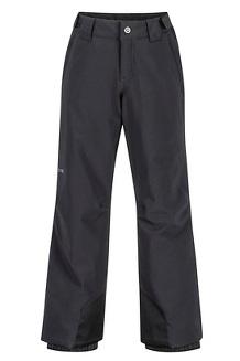 Boys' Vertical Pants, Black, medium