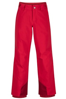 Boys' Vertical Pants, Team Red, medium