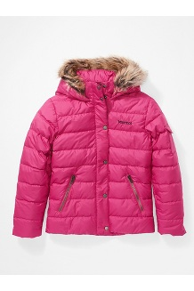 Kids' Hailey Jacket, Very Berry, medium
