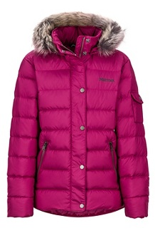 Girls' Hailey Jacket, Purple Berry, medium