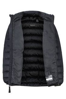 Boys' Highlander Down Jacket, Black, medium