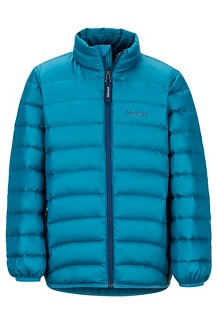 Boys' Highlander Down Jacket, Moroccan Blue, medium