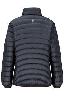 Girls' Highlander Down Jacket, Black, medium