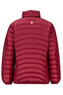 Girls' Highlander Down Jacket, Claret, medium
