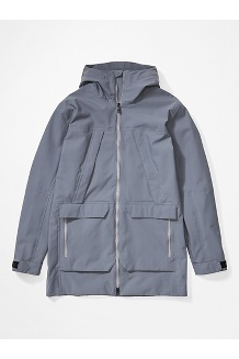 Men's Commuter Parka, Steel Onyx, medium