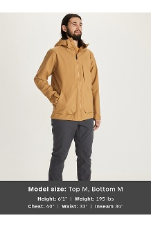 Men's Hudson Jacket, Scotch, medium