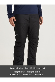 Men's Mt. Tyndall Pants, Black, medium