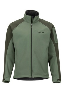 Men's Gravity Jacket, Crocodile/Rosin Green, medium