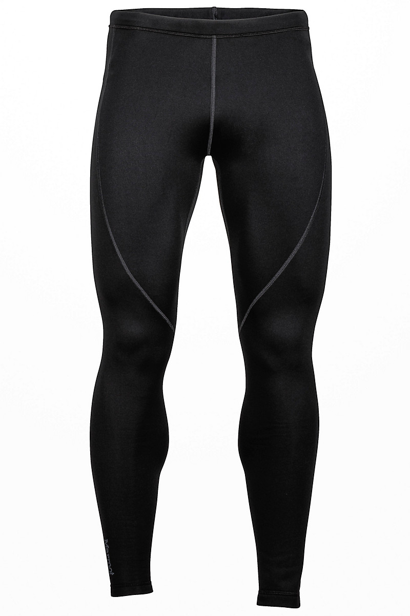Stretch Fleece Pant, Black, large