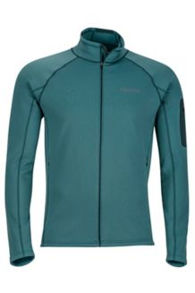 Stretch Fleece Jacket, Mallard Green, medium