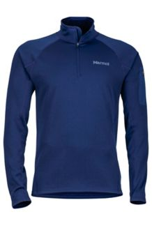 Stretch Fleece 1/2 Zip, Arctic Navy, medium