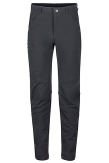 Men's Winter Trail Pants, Black, medium