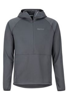 Zenyatta 1/2 Zip Hoody, Slate Grey, medium