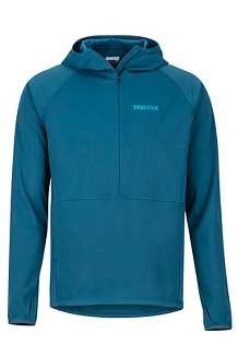 Men's Zenyatta 1/2-Zip Hoody, Denim, medium