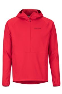 Zenyatta 1/2 Zip Hoody, Team Red, medium
