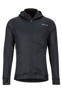 Men's Dawn Hoody, Black, medium