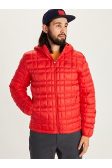 Marmot Featherless Hoody, Victory Red, medium