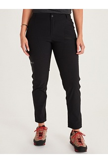 Women's Portal Pants, Black, medium