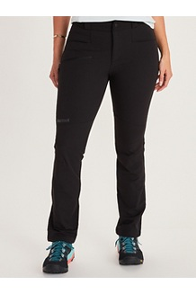 Women's Scree Pants - Long, Black, medium