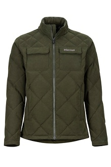 Men's Burdell Jacket, Rosin Green, medium