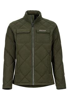 Men's Burdell Jacket, Rosin Green, medium