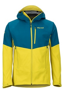 Men's ROM Jacket, Moroccan Blue/Citronelle, medium