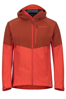 Men's ROM Jacket, Dark Rust/Mars Orange, medium