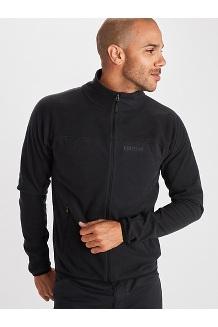 Men's Pisgah Fleece Jacket, Black, medium