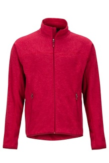 Men's Pisgah Fleece Jacket, Brick, medium