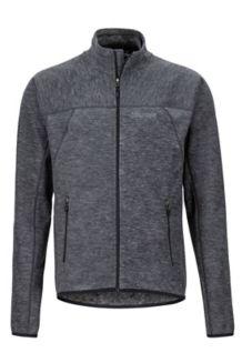 Pisgah Fleece Jacket, Dark Steel, medium