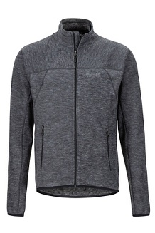 Men's Pisgah Fleece Jacket, Dark Steel, medium