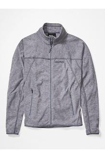 Men's Pisgah Fleece Jacket, Steel Onyx, medium
