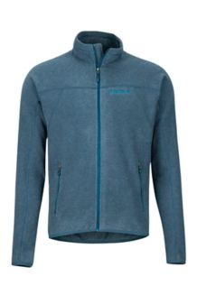 Pisgah Fleece Jacket, Denim, medium