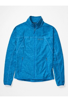 Men's Pisgah Fleece Jacket, Classic Blue, medium