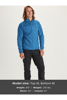 Men's Pisgah Fleece Jacket, Stargazer, medium