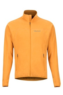 Men's Pisgah Fleece Jacket, Aztec Gold, medium
