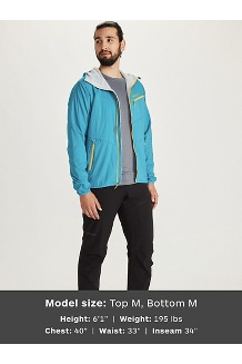 Men's Alpha 60 Jacket, Enamel Blue, medium