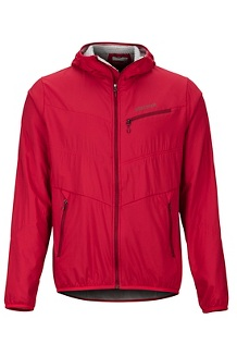 Men's Alpha 60 Jacket, Team Red, medium