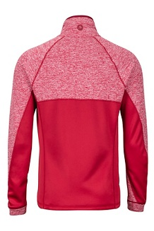 Men's Mescalito Fleece Jacket, Sienna Red, medium