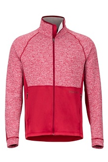 Men's Mescalito Fleece Jacket, Sienna Red, medium