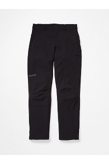 Men's Scree Pants - Short, Black, medium