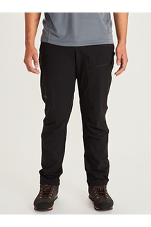 Men's Scree Pants, Black, medium