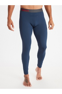 Men's Baselayer Tights, Dark Indigo, medium
