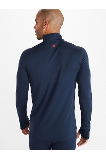 Men's Polartec Baselayer ½-Zip Jacket, Dark Indigo, medium